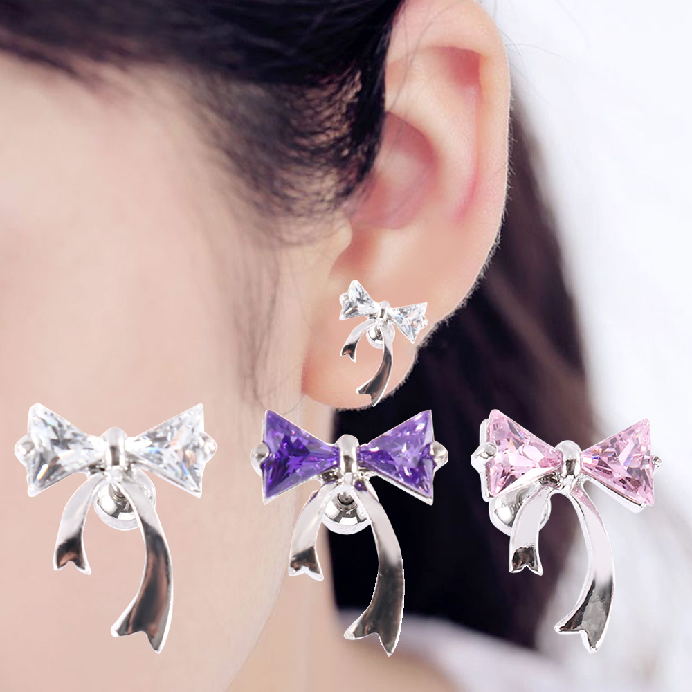 316L Surgical Steel Rose Gold Ion Plated Nose /& Ear Cartilage Ring with Heart