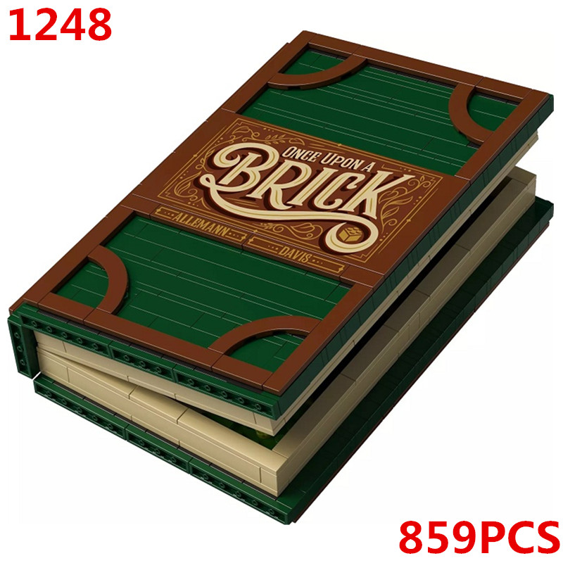 21315 Pop Up Book Store book Jack and peas Ideas Model Building Blocks Bricks Kids DIY Gifts Toys S 1248