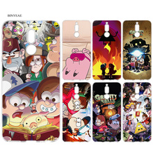 1b48bfa29e8 BINYEAE Gravity Falls Silicone Case for Huawei Mate 10 P20 P10 P9 P8 Y6 Y7  Honor