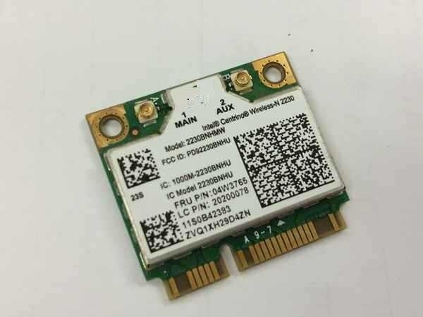 Nouveau Wifi 4.0 Bluetooth Carte pour <font><b>Intel</b></font> Sans Fil-N 2230 FRU: 04W3765 moitié mini PCI-E Carte pour IBM Lenovo Y400 Y500 Y410P Y510P U310