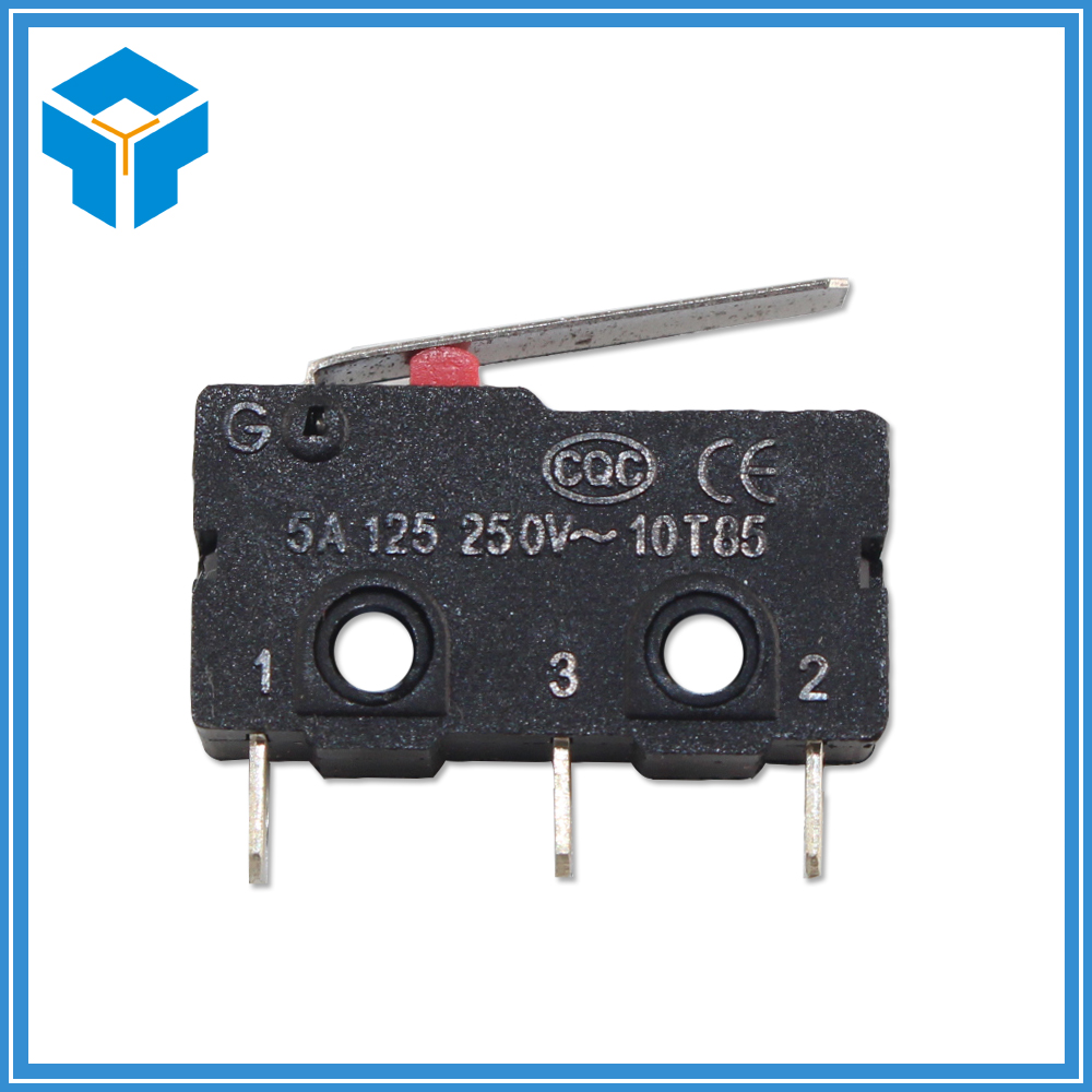 50PCS Limit Switch 3 Pin N/O N/C High quality All New 5A 250VAC KW11-3Z Micro Switch Factory direct sale