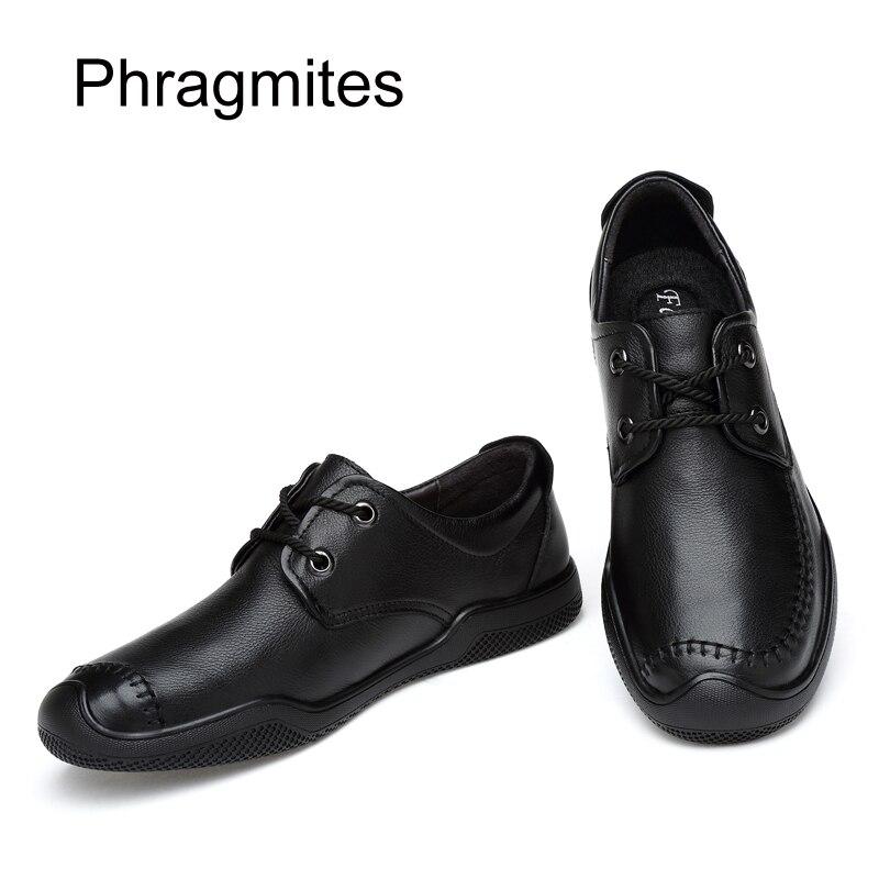 Redondo Masculino Phragmites Macio Flats Casual 02 Preto Black Europeu Sola Pé Couro Do Anti Mens De Homens Dedo Formal odor Sapatos Mocassins Dos rqrzafw
