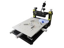Free shipping New Arrival High Precision Printer Platform 300*400mm Manual Stencil Printer machine Silk Printing Machine free shipping smt manual solder paste printer best precision screen stencil printer