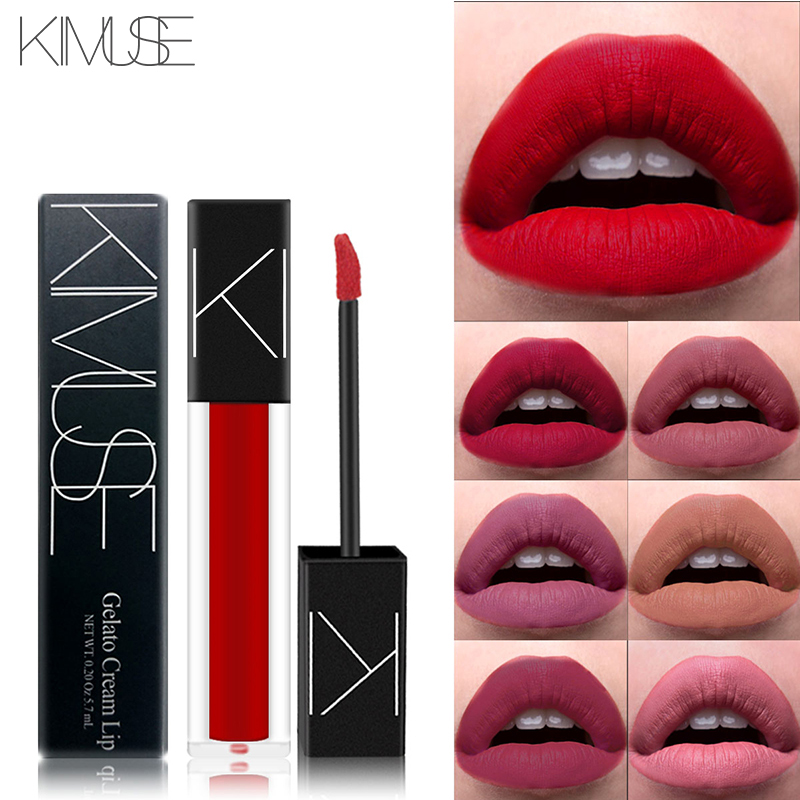 KIMUSE Makeup Matte Smooth Lipstick Liquid Lipstick