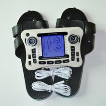 Dual Channel 308B Electrode Pads With Massager Slipper Digital Therapy Body Massager Nerve Muscle Stimulator With 20Pcs Gel Pads