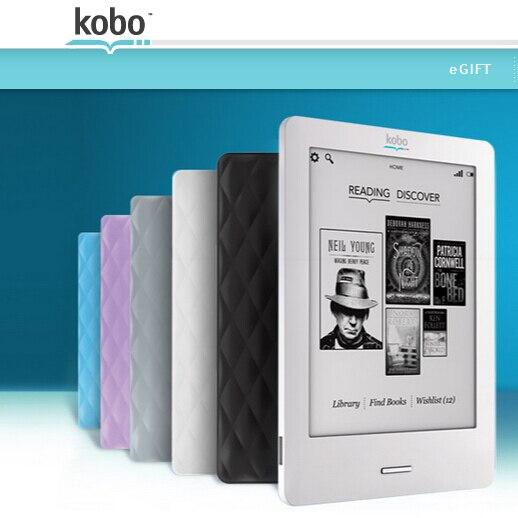 Kobo coupon ereader
