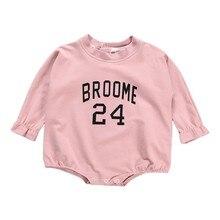 Летняя одежда для мальчиков и девочек, футболка с длинными рукавами для укладки волос Одежда для малышей тонкие модели слипы для малышей, ползунки Одежда для малышей, на возраст 6-18 месяцев