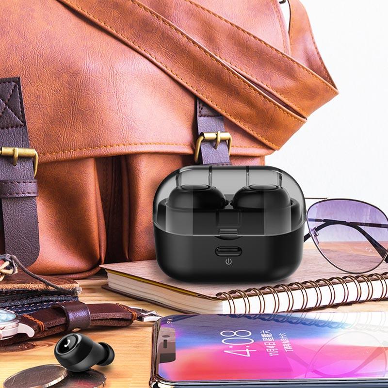 Wireless Bluetooth Headset Earphone Noise Reduction Portable for Sport SL@88