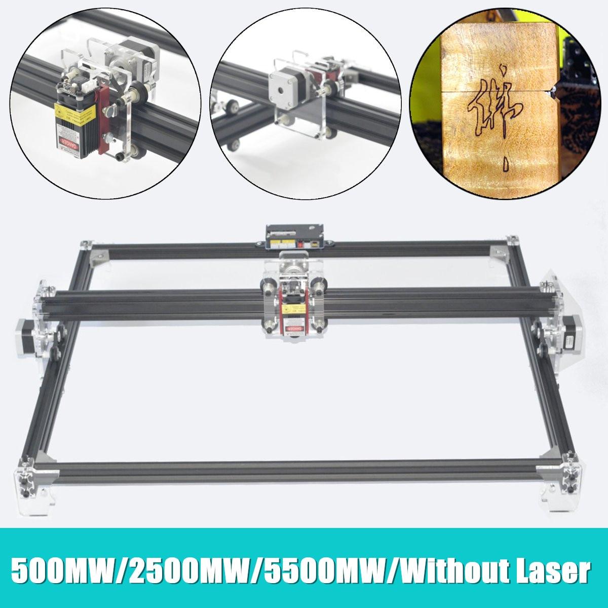 500MW/2500MW/5500MW DIY Laser Engraver Machine DVP6550 Wood Router CNC MiniUSB DIY Engraver Desktop Wood Router/Cutter/Printer