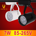 1pcs Black White Led Track Light Commercial Lighting Renovation Led Ceiling Spot Lamp 7W 85-265V