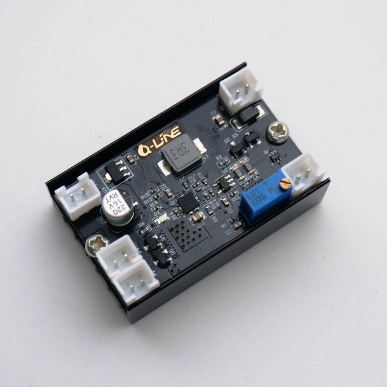 5A 12 V 1-5 W Ajustável Buck Corrente Constante Motorista board/Laser de Diodo/LED Driver w /TTL/VENTILADOR 150 kHz Freqüência de Modulação PWM