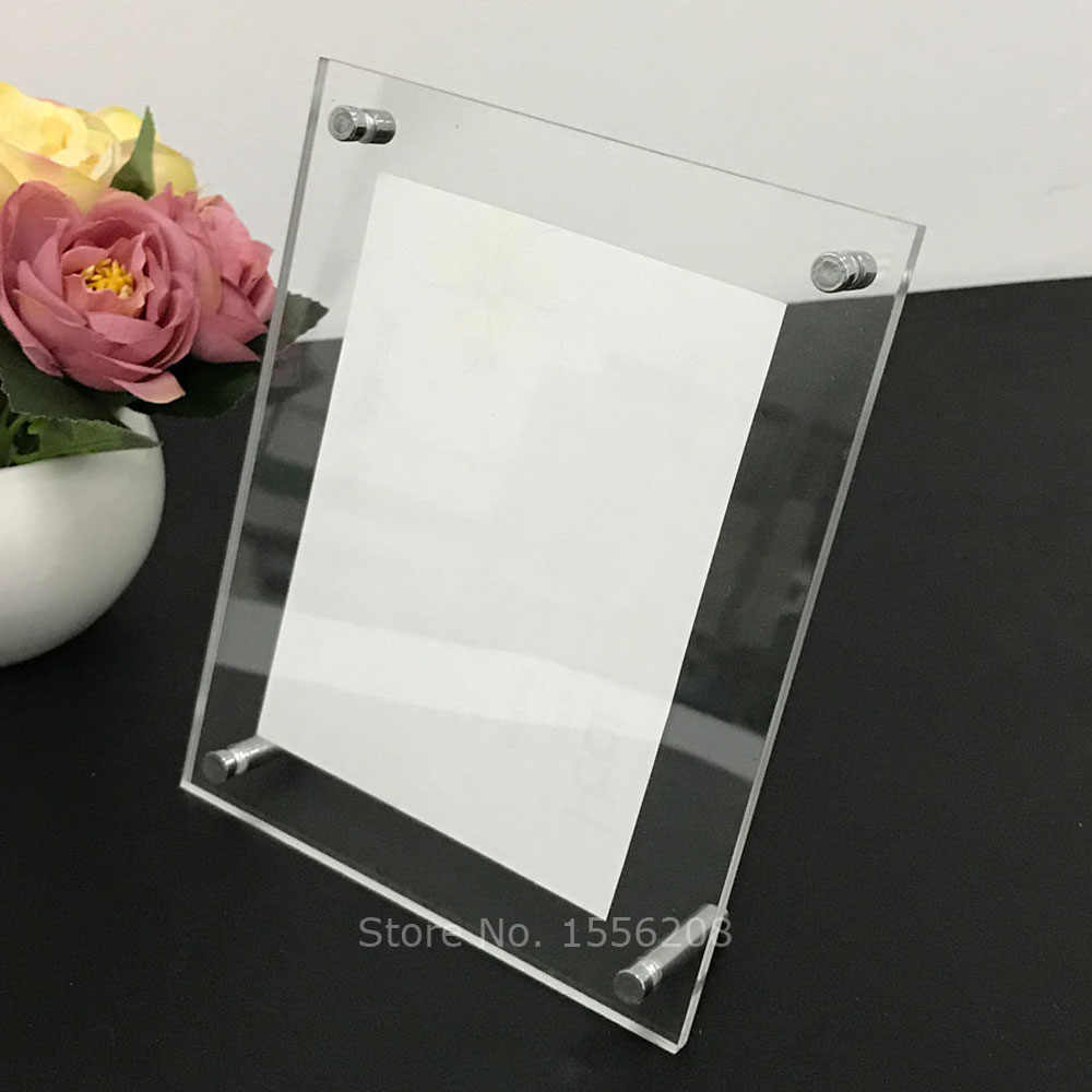 Euroline35 Picture Frame 55x65 or 65x55 cm with Entspiegeltem Acrylic Glass