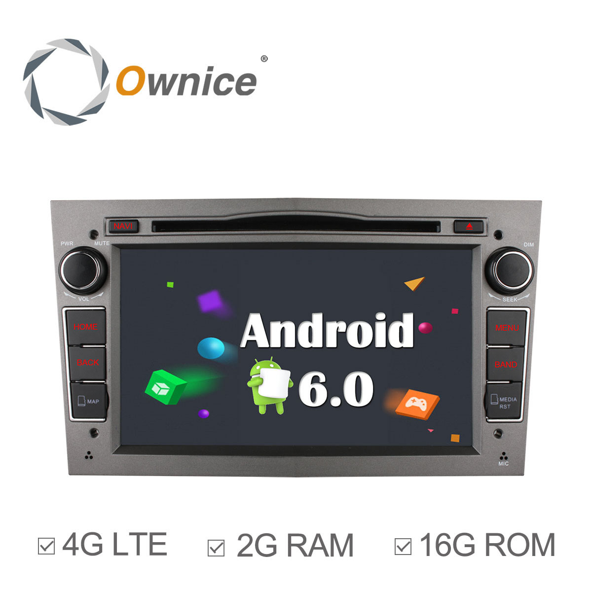 Ownice C500 Android 6.0 Quad Core 2GB RAM Car DVD Player GPS For OPEL ASTRA Zafira Combo With Radio Suppport 4G LTE Network
