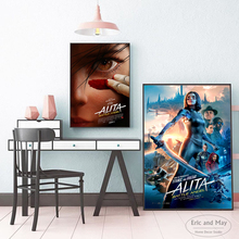 Alita Battle Angel Movie Character Posters And Prints Canvas Art Decorative Wall Pictures For Living Room Home Decor Painting