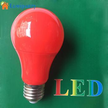 LumiParty E27 bombilla LED colorida 85-265V bola de Golf globo bombilla LED para lámpara 6W lámpara de ahorro energético decoración del hogar iluminación