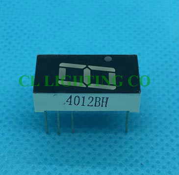0.4 Inch El Products Red Digital Tube Seven Segments Display Common Anode(nixie Tube) Strengthening Sinews And Bones
