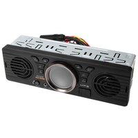 AOVEISE 4,3 дюймов автомобиля MP3 плеер Bluetooth Электроника 12 В аудио плеер в тире стерео fm-радио с USB/TF карты Порты и разъёмы