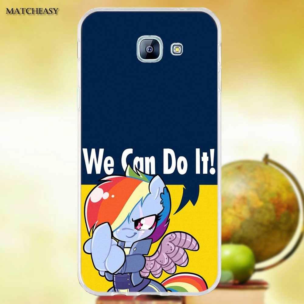 Oedmeb с рисунком из мультфильма «Мой Маленький Пони» с рисунками из мультфильмов Классная мягкая ТПУ Модный чехол для Samsung Galaxy A3 A5 A7 J1 J2 J3 J5 J7 2015 2016 2017