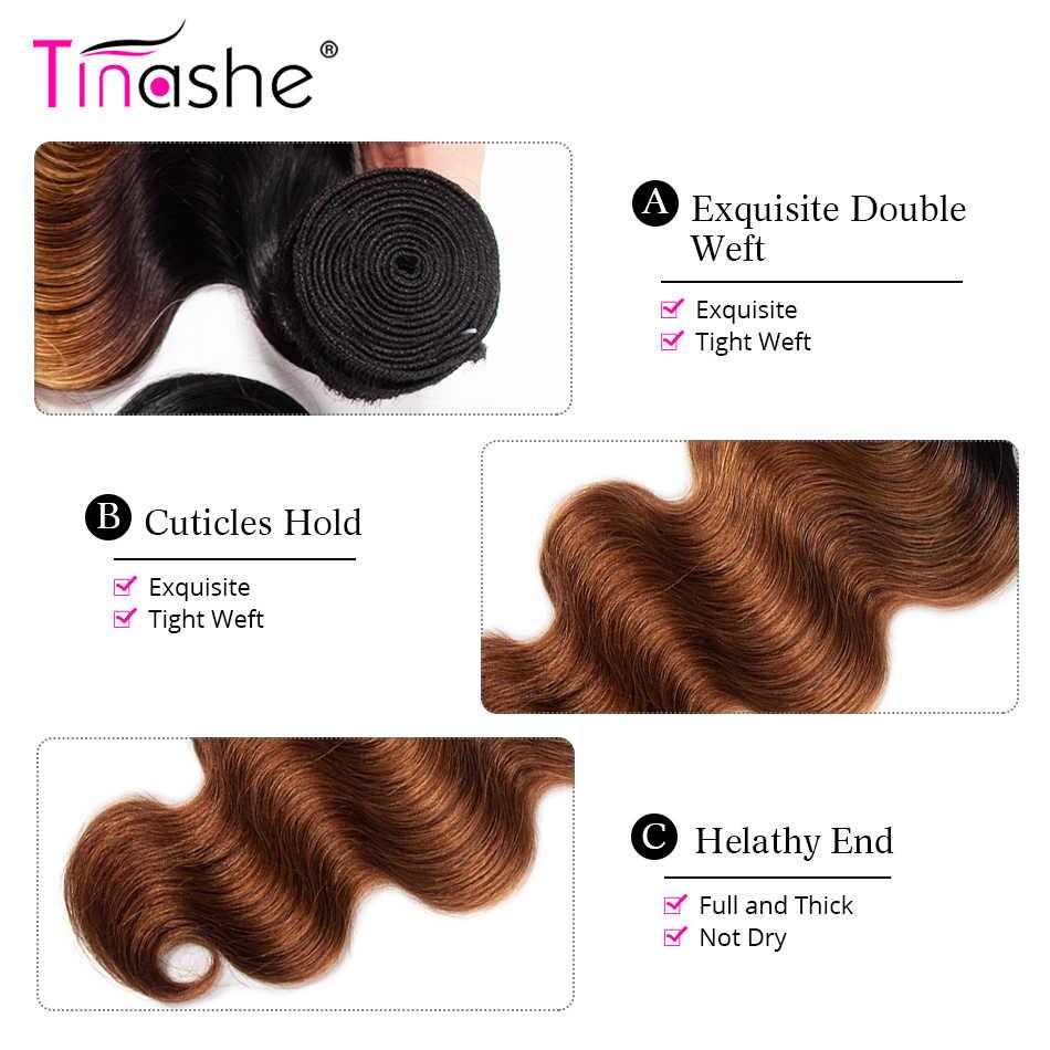 Tinashe Hair Body Wave Bundles Remy Human Hair 3 Bundles Brazilian Hair Weave Bundles 1B 30 Ombre Hair Bundles