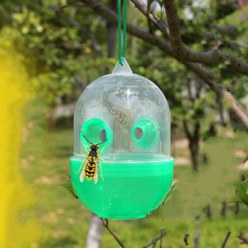 5pcs/lot Pest Repeller Bee Trapper Insect Killer Pest Reject Flies Bugs Hornet Trap Catc ...
