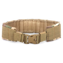 Adjustable Tactical Loading Waist Belt Outdoor Hunting Support Padded for Circumference 70-110cm