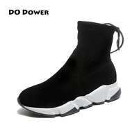 Winter Hip Top Sneakers Woman Boots Women Sneakers With Fur Snow Boots Winter Woman Running Shoes