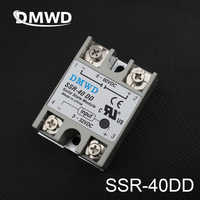 TOP BRAND DMWD SSR-40DD 40A solid state relay actually 3-32V DC TO 5-60 DC SSR 40DD relay solid state High quality