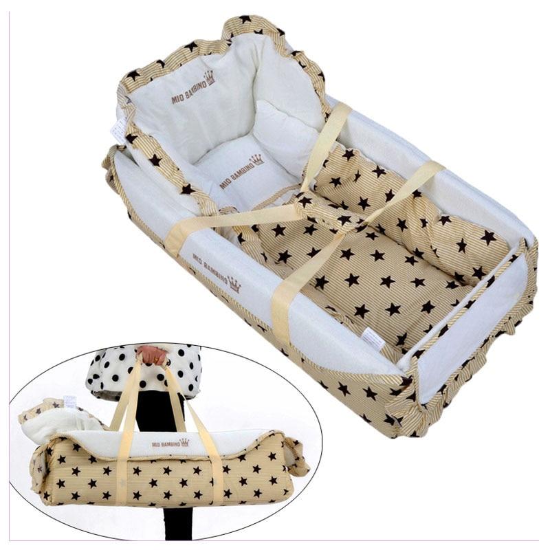 Berceau de jeu pliable de berceau portatif Standard de bébé pour le panier de sommeil de bébé nouveau-né