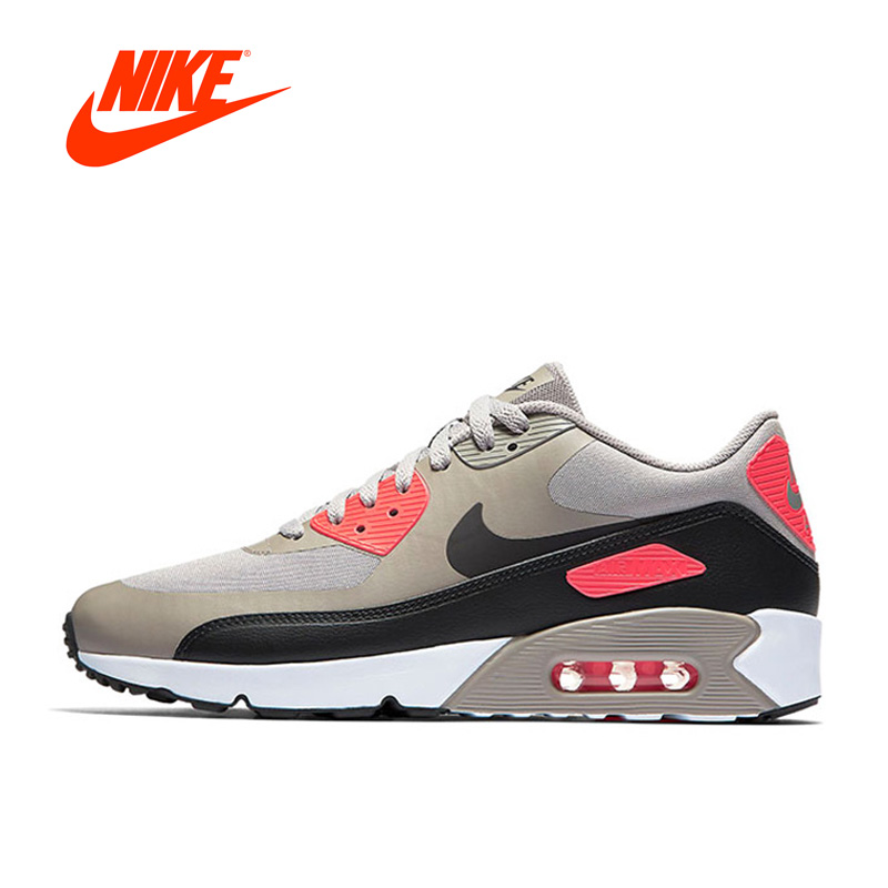 Original New Arrival Official NIKE AIR MAX 90 ULTRA 2.0 Men's Breathable Running Shoes Sports Sneakers Comfortable Breathable adidas original new arrival official neo women s knitted pants breathable elatstic waist sportswear bs4904