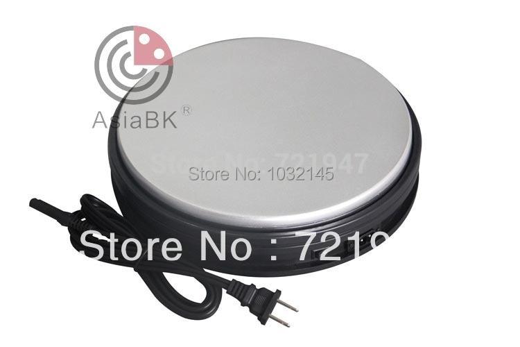 25kg load bearing 60 seconds round motorized rotating for Large motorized rotating platform