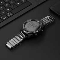 SIKAI 22mm universel Bracelet de montre en céramique pour Ticwatch Pro Bracelet de montre en céramique pour Huawei montre 2 Pro Bracelet pour Samsung Gear S3