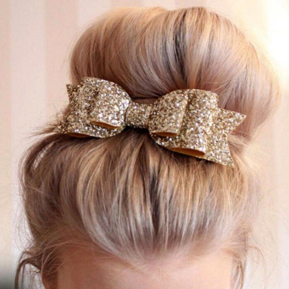 1 Pc Elastic Headband For Kids Girls Bow Hair Band Accessories   Headwear   Vintage