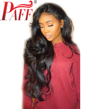 360 Lace Frontal Wig Body Wave Lace Front Human Hair Wigs 130% 150% 180%Density Peruvain Remy Hair Wig Free Part PAFF цена