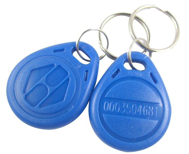 10 RFID Tag Proximity ID Token Key Ring 125Khz 125KHZ Card bule red yellow