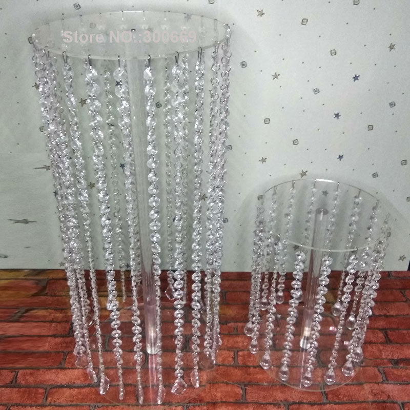 10 stücke acryl kristall hochzeits mittel mit lichter tisch herz/blume stand/hochzeit dekoration straße führen hochzeit säule-in Party-DIY-Dekorationen aus Heim und Garten bei  Gruppe 1