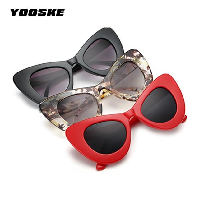 35b00699e31 Clout Goggles Cat Eye Sunglasses NIRVANA Kurt Cobain Glasses Women  Butterfly Frame Design Sunglass UV400 Goggles