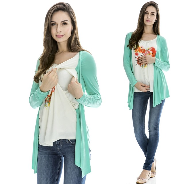 MamaLove maternity clothing maternity tops nursing clothes nursing top breastfeeding tops pregnancy clothes for pregnant women