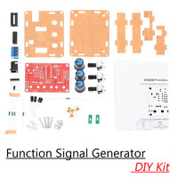 1Hz 1MHz XR2206 DDS Function Signal Generator DIY Kit Sine Triangle Square Output Wave Adjustable Frequency