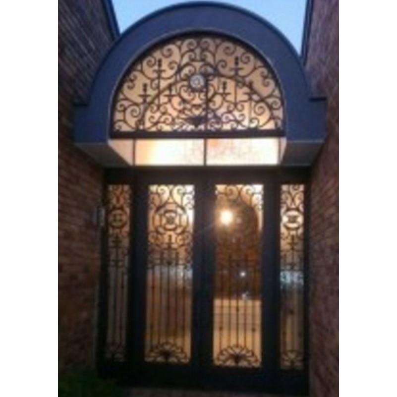 Solid Wrought Iron Doors Iron Doors Houston
