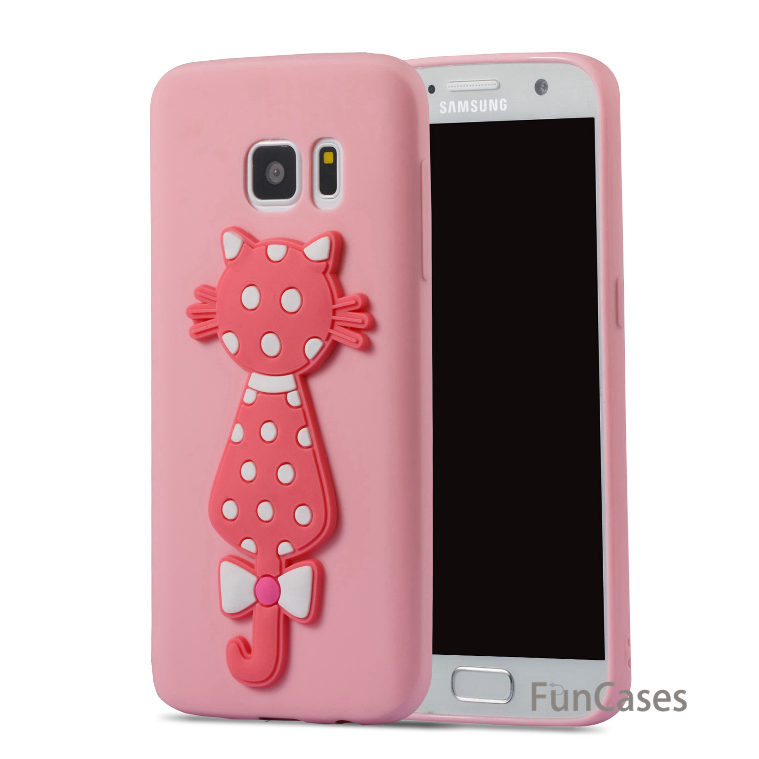 Candy Case sFor Etui Samsung S7 Soft Silicone Back Cover Telefoon Cute Back Cover sFor Samsung Galaxy S7 Phone Pouch Funda Casa