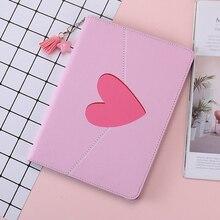 цена на Case For New iPad Mini 5 Fashion Pink love Smart Cover Folding Stand Auto Sleep/Wake Back protection Case For ipad Mini 4 5