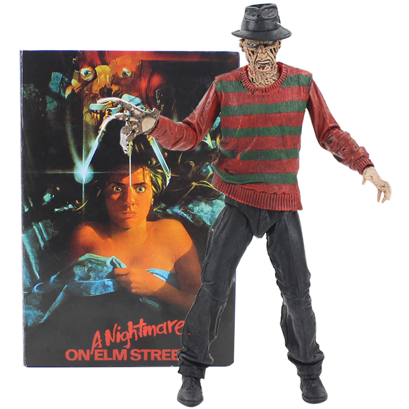 NECA 18CM A Nightmare On Elm Street Freddy Krueger Freddy's Nightmares Figure Collection Toys