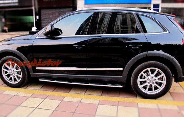 For Audi Q5 2008 09 10 11 12 2013 2014 2015 ABS Body Side Trim