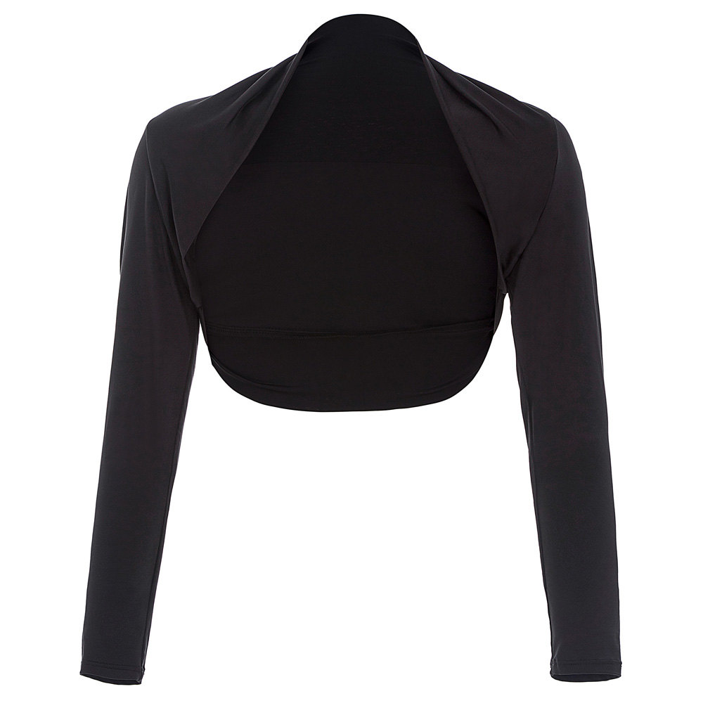 Aliexpress.com : Buy Long Sleeve Bolero Jackets Formal Black ...