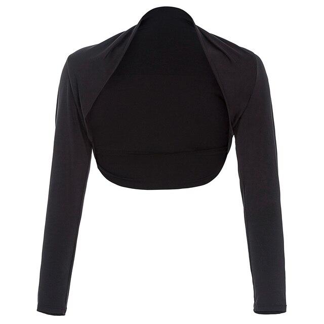 Bolero noir pour robe de soiree