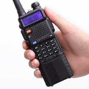 Image 3 - 2 sztuk Baofeng UV 5R 8W Two Way Radio o dużej mocy W wersji 10km długi zasięg dwuzakresowy Radio przenośne Walkie Talkie CB Radio