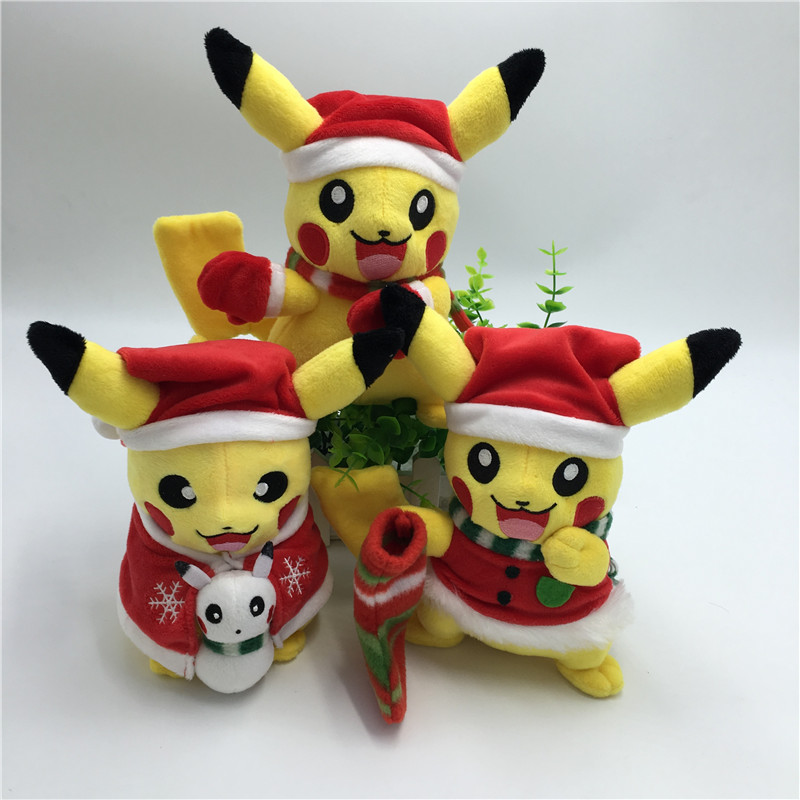 Kids Christmas Toy : New halloween christmas gift hot game pikachu cosplay