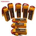 Радиоуправляемые игрушки LiPo батарея 4S 14 8 V 2200 3000 3800 4200 4500 5200 6000mAh 25C 35C 60C для радиоуправляемых летательных аппаратов квадрокоптера автомобиля...