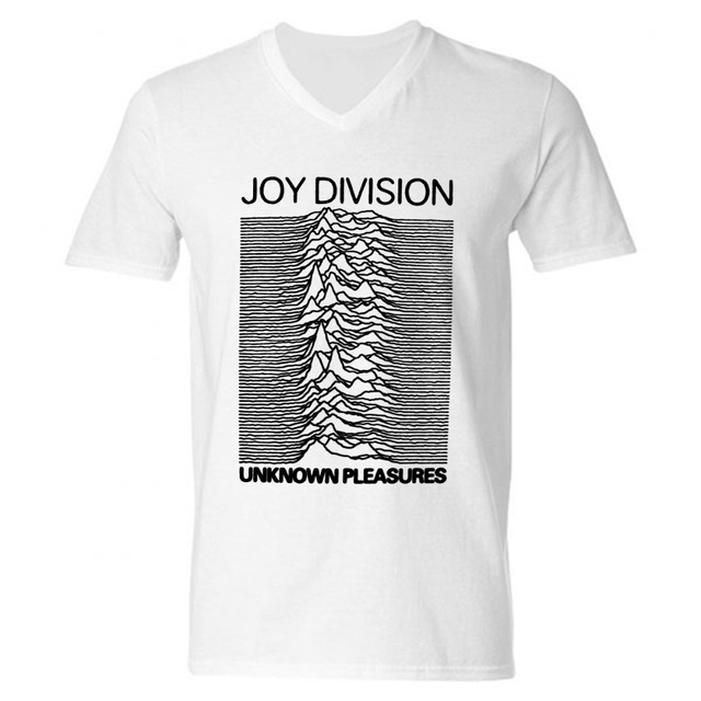 2d942517b55 Fashion New Joy Division Men T Shirts Cotton V Neck Short Sleeve Mens Shirt  Wholesale Man Tops Free Shipping