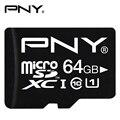 PNY Карта Micro Sd 16 ГБ 32 ГБ 64 ГБ 128 ГБ Class10 SDHC SDXC U1 Карты Флэш-Памяти 90 МБ/с. UHS-1 TF Мини MicroSD Карты Для смартфон